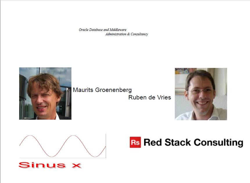 SIG Eng.Systems 24 Sep 2015: inzet Exadata bij projecten – Ruben de Vries, Maurits Groenenberg