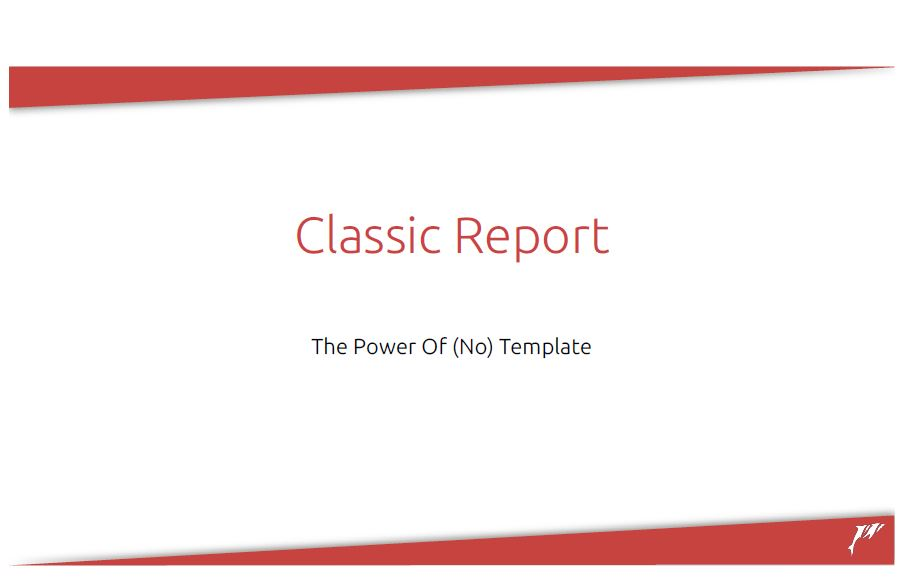 APEX 2019: Classic Report the Power of (no) template – Richard Martens
