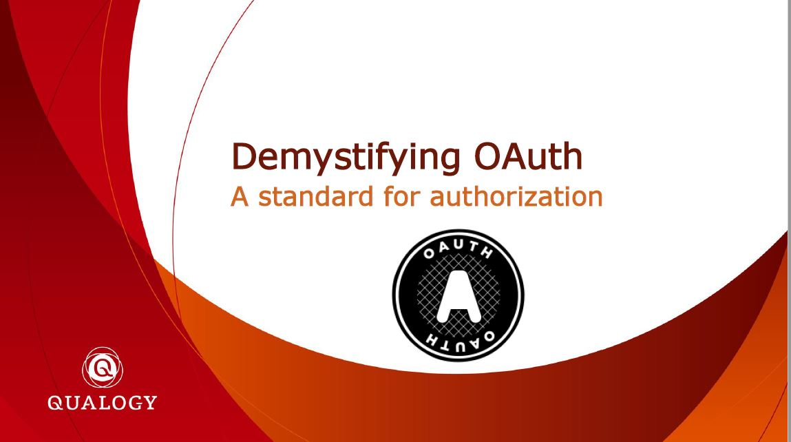 APEX 2019: Demystifying OAuth – Menno Hoogendijk