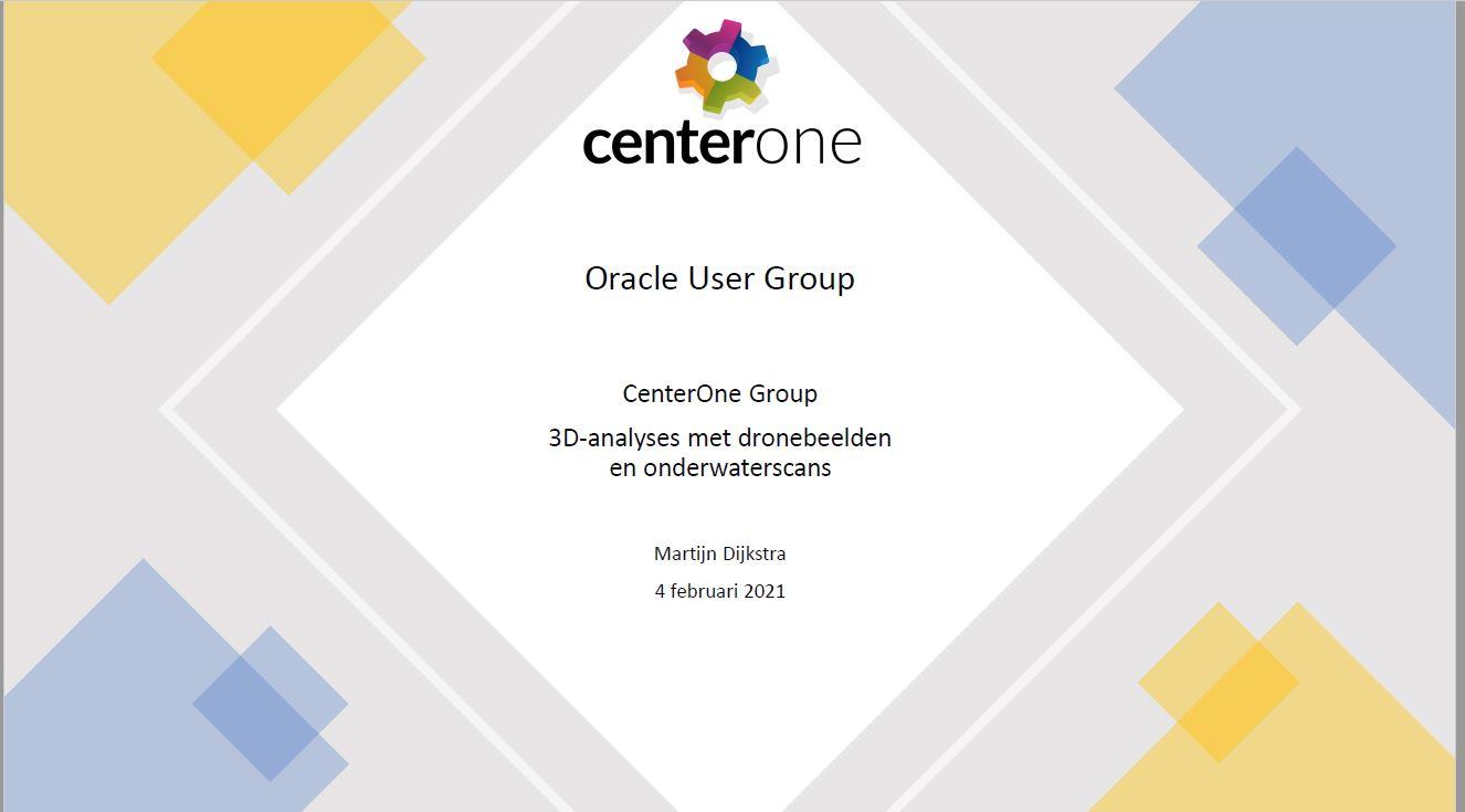 Meetup Feb 2021: 3D ervaringen met Oracle Spatial – Martijn Dijkstra