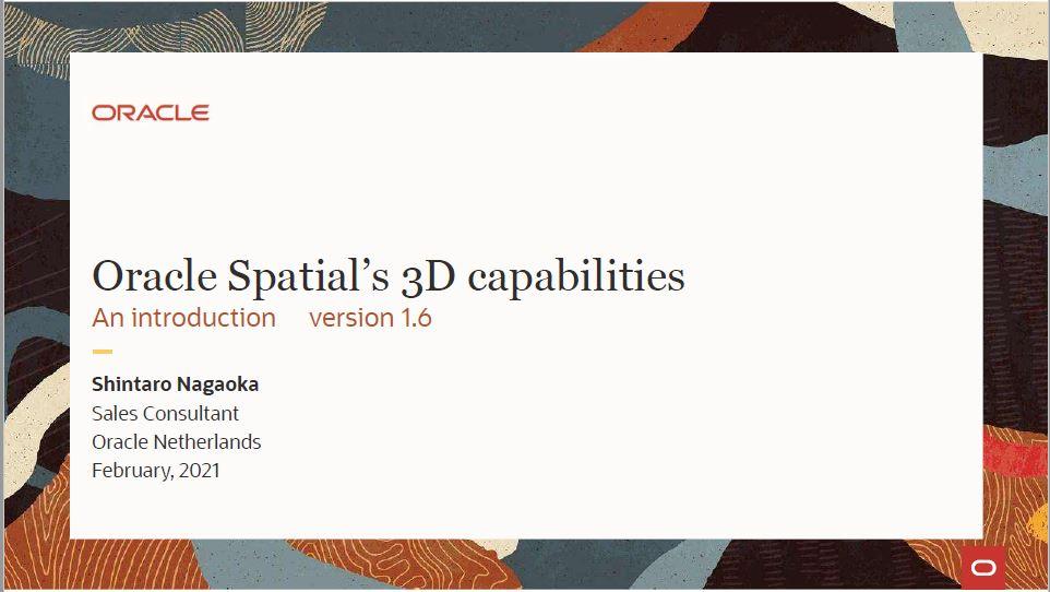 Meetup Feb 2021: Inleiding 3D Spatial – Shintaro Nagaoke