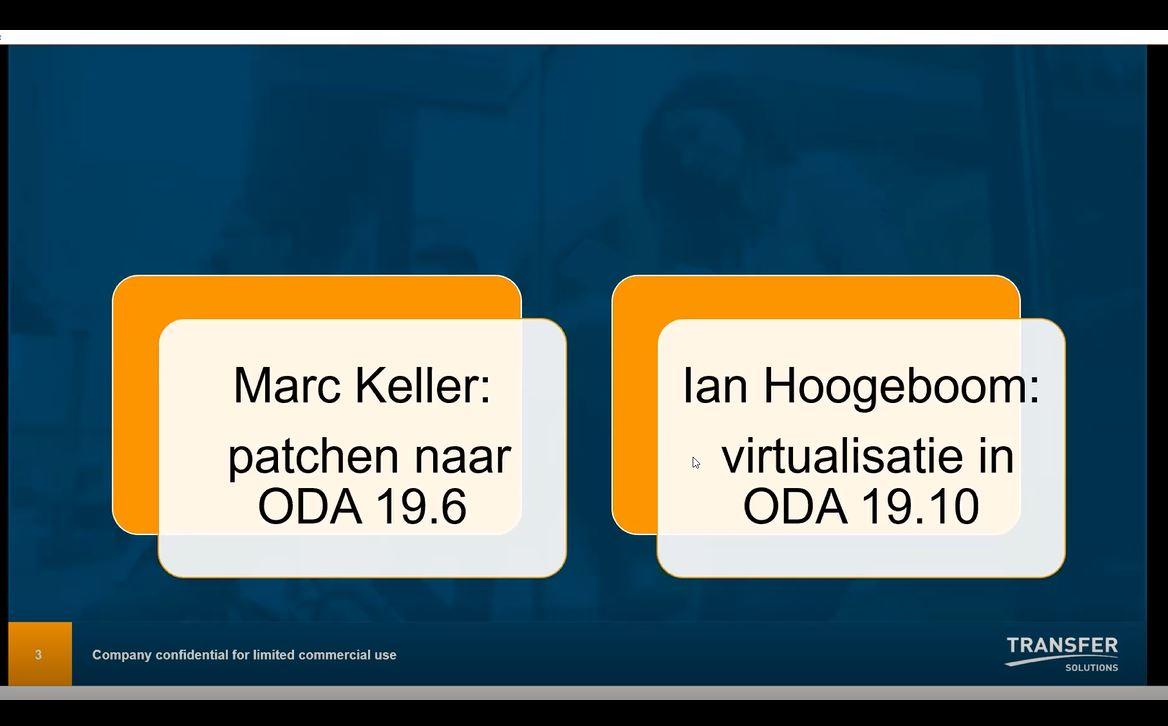 Meetup juni 2021: Ervaringen met KVM op ODA-systemen – Ian Hoogeboom